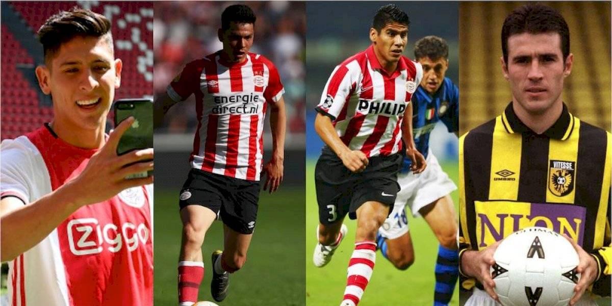 Futbolistas mexicanos que han jugado en la Eredivisie de Holanda