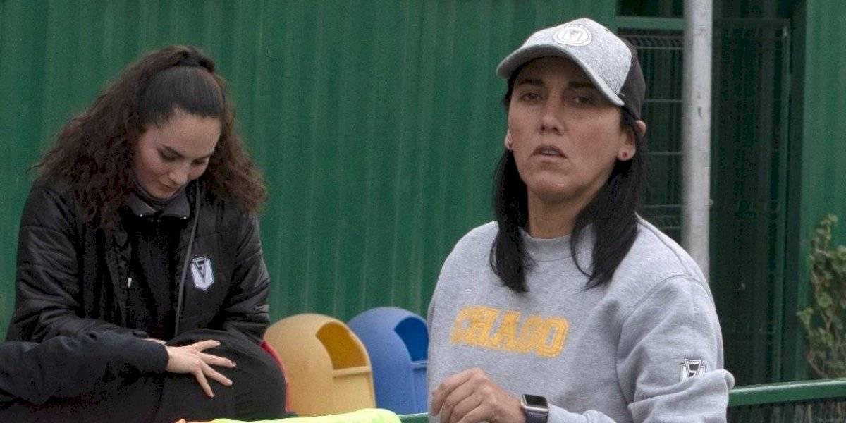 """Paula Navarro, DT de Santiago Morning: """"Me gustaría ser presidenta de la ANFP y, por qué no, de la FIFA"""""""