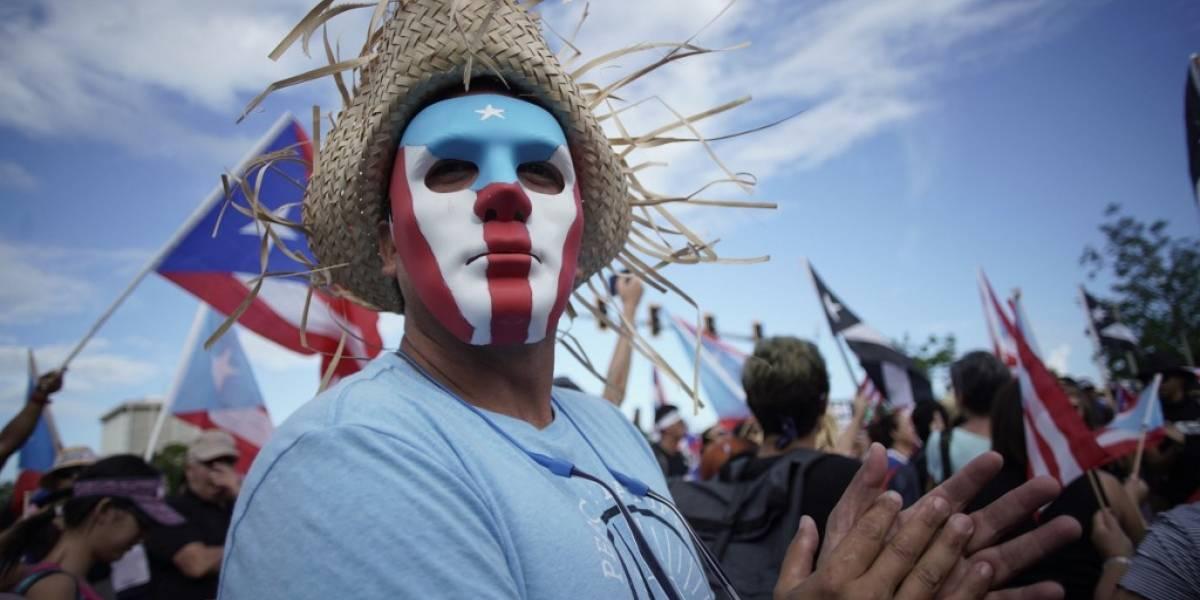 FOTOS. Cientos salen a las calles para exigir la renuncia de Rosselló en Puerto Rico
