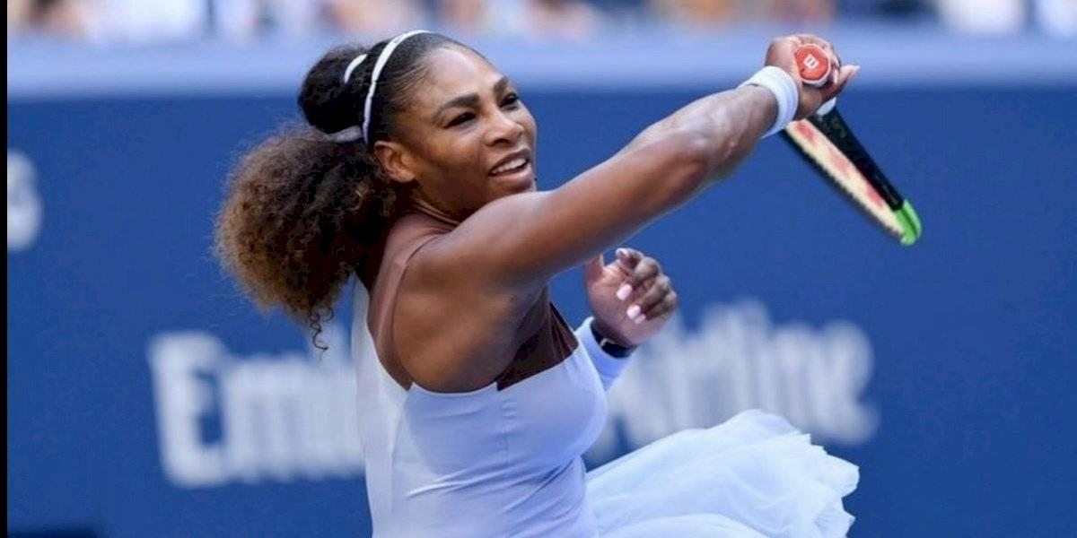 Serena Williams aceptó peculiar reto y derrotó a cinco hombres