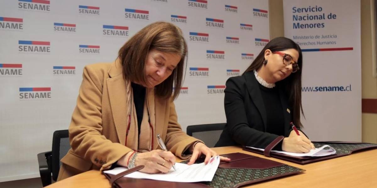 SENAME y CONANI firman de acuerdo interinstitucional a favor de la niñez de Chile y RD