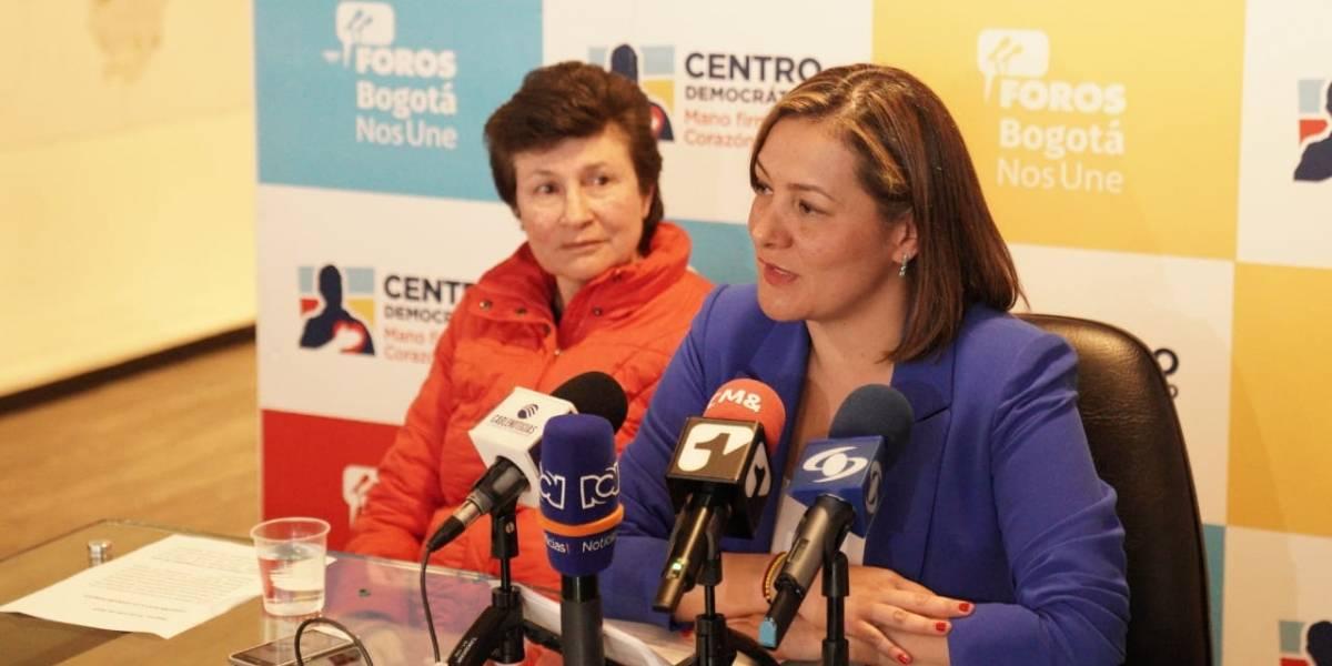 Ángela Garzón renuncia al Centro Democrático que la dejó sin candidatura