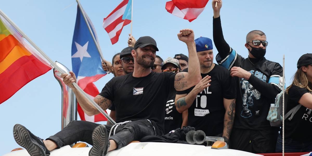 VIDEO. Ricky Martin exige al gobernador Ricardo Rosselló que enfrente a la prensa de Puerto Rico