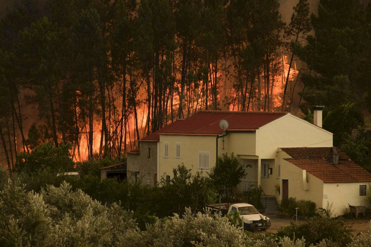 Incendios en Portugal Foto: AP