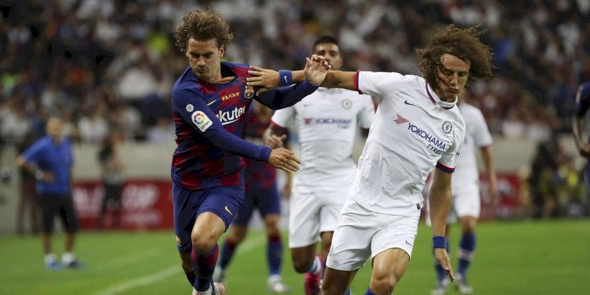 Antoine Griezmann y Frankie de Jong tienen amargo debut con Barcelona en torneo amistoso