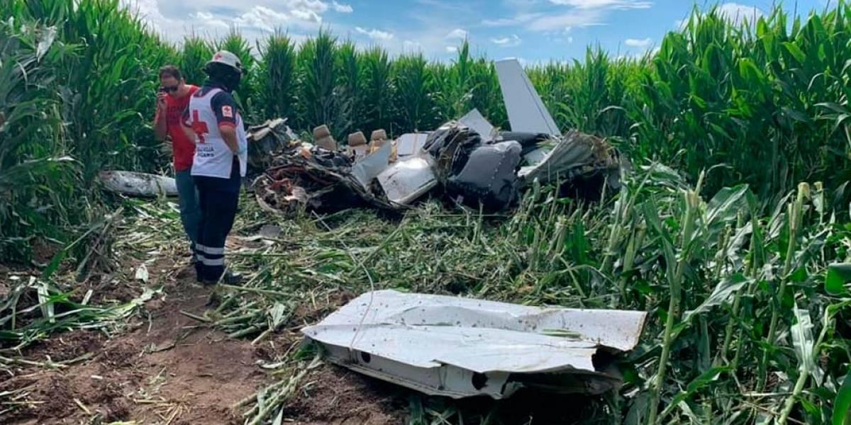Caída de avioneta en Chihuahua deja 4 muertos