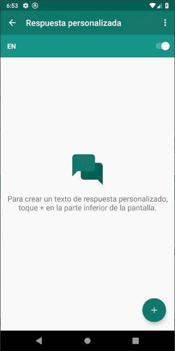 Crea respuestas automáticas al enviar un mensaje en WhatsApp Internet