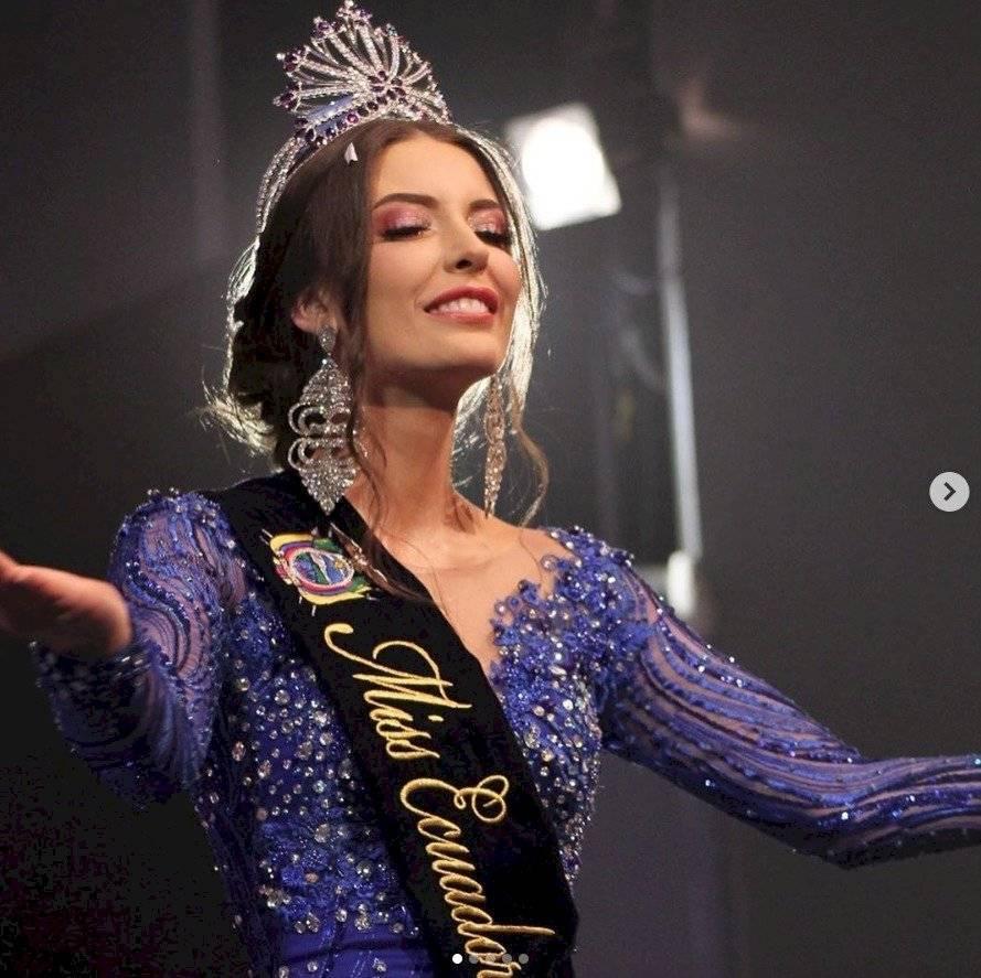 Miss Ecuador, Cristina Hidalgo INSTAGRAM CRISTINA HIDALGO