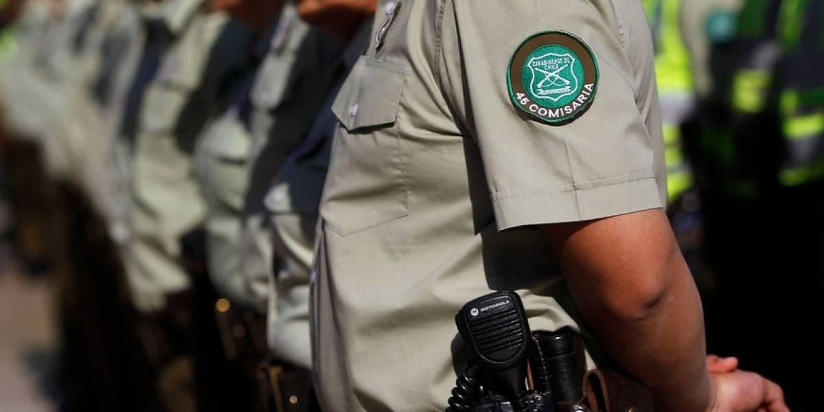 Cinco carabineros quedan en prisión preventiva por delitos en barrio Meiggs