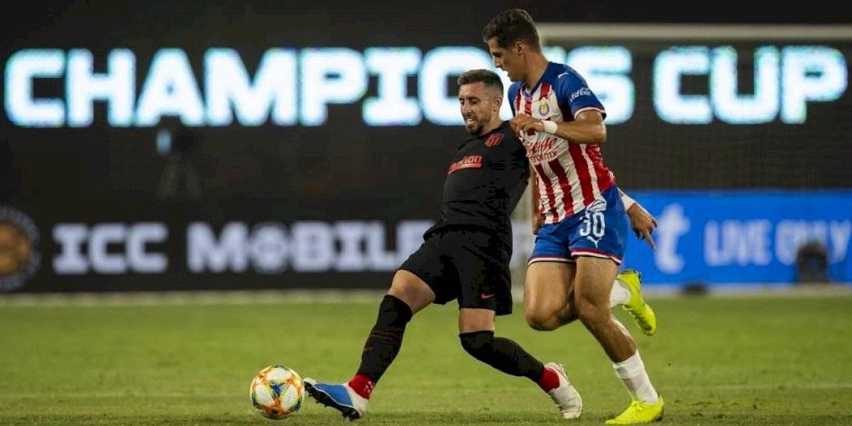 Chivas se despide con empate ante el Atlético de Madrid
