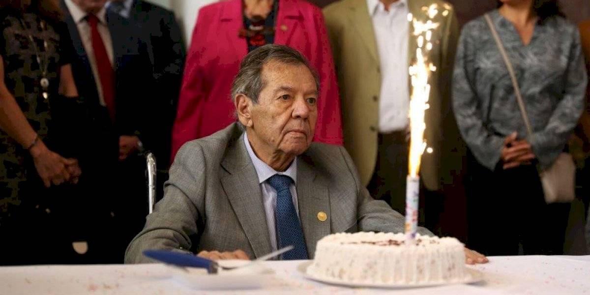 Una mujer en la Presidencia, deseo de cumpleaños de Porfirio Muñoz Ledo