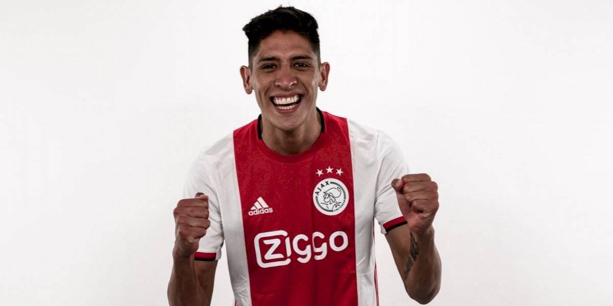 Edson Álvarez aún no podrá debutar con el Ajax