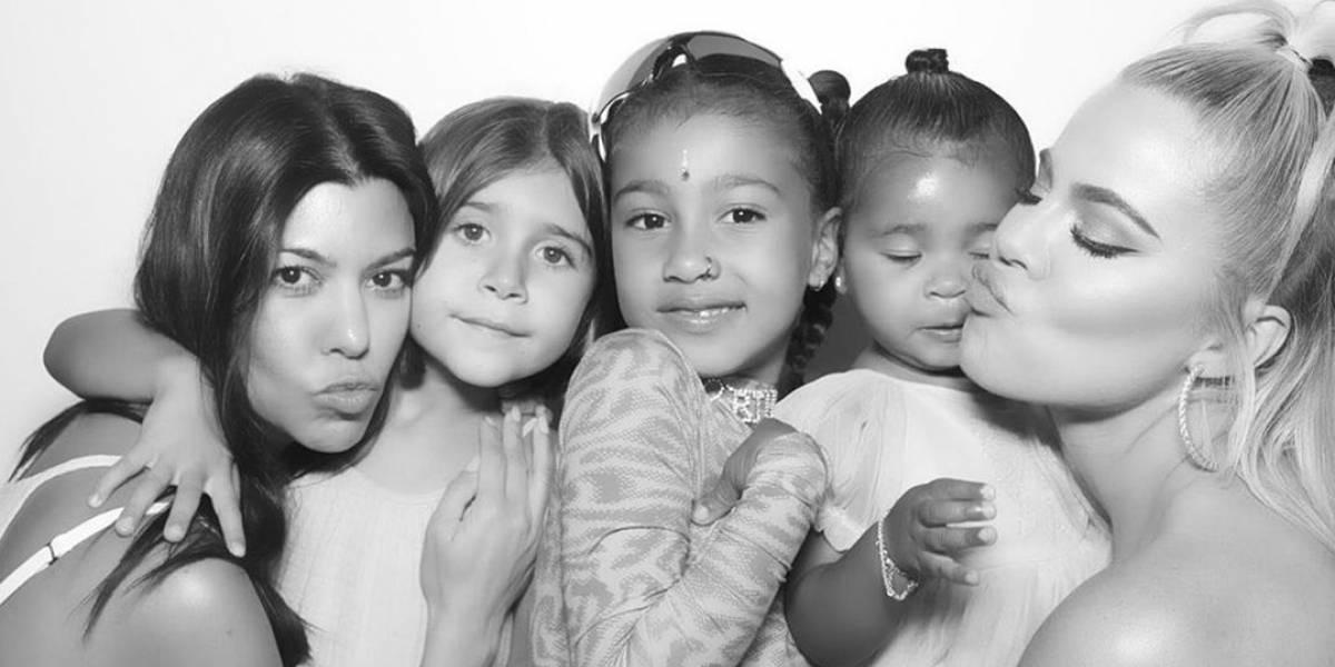 Kim Kardashian é criticada após a filha aparecer com piercing no nariz
