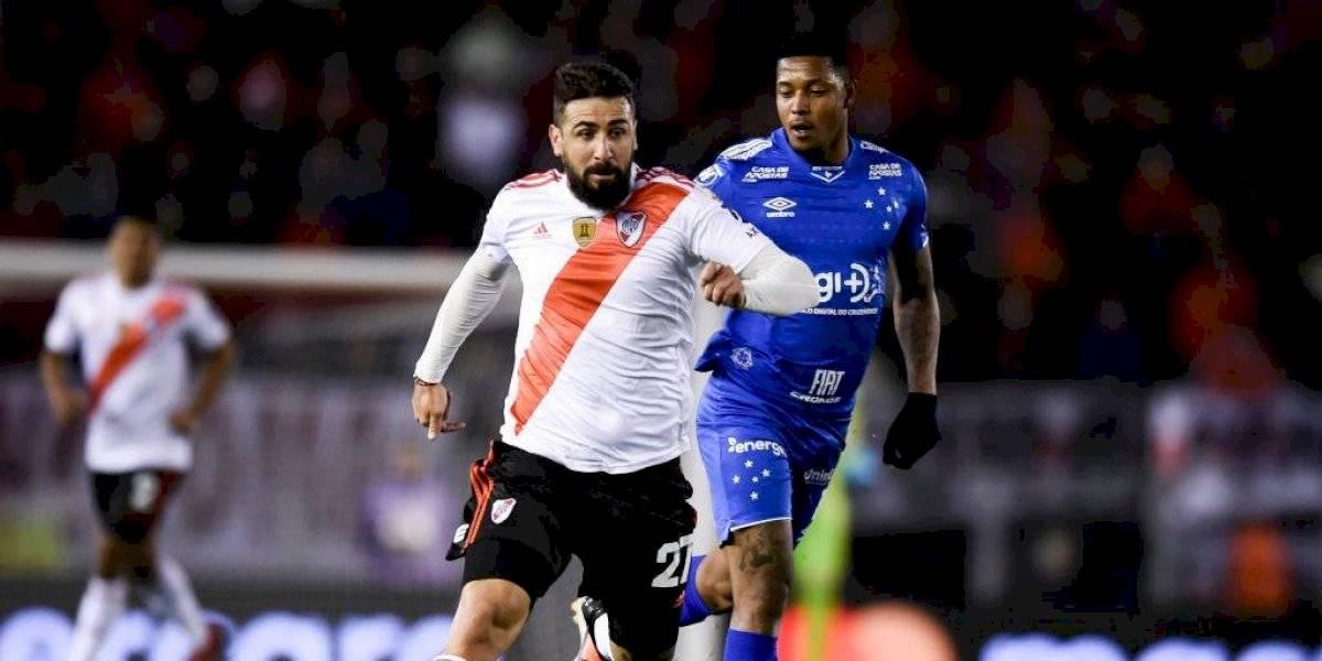River Plate desperdició un lanzamiento penal e igualó con Cruzeiro en la Copa Libertadores