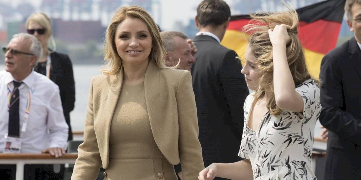 Angélica Rivera reaparece con Sofía Castro tras accidente