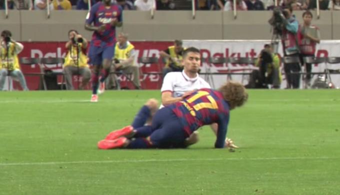 VIDEO. Griezmann da el susto y el Barcelona cae contra el Chelsea