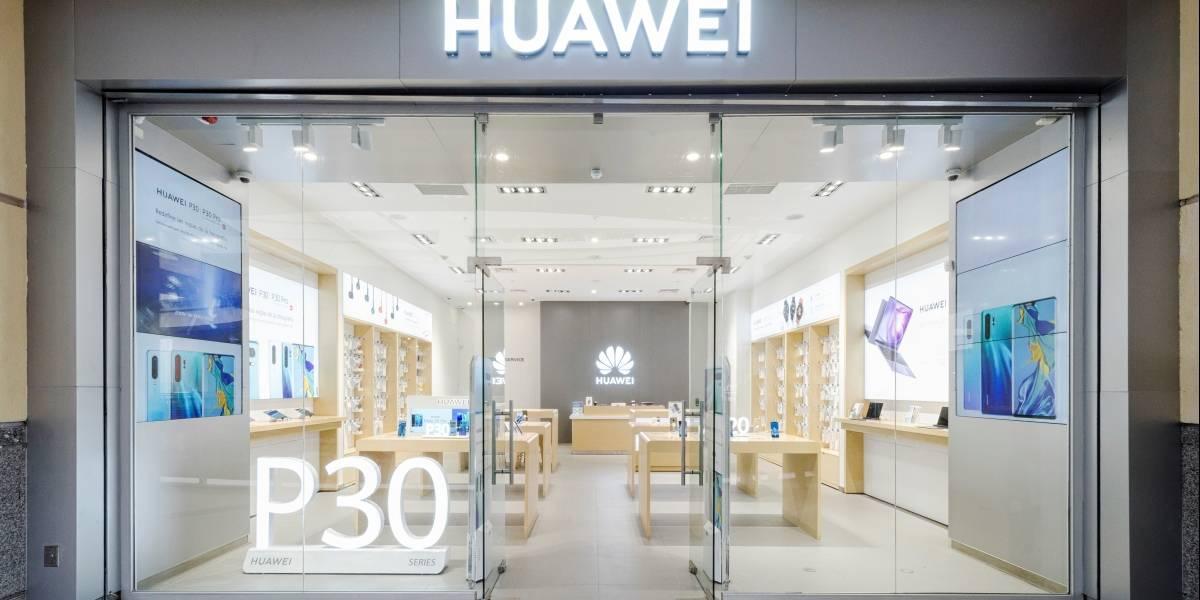 Huawei inauguró nueva tienda en Chile: Mira cómo es y dónde está