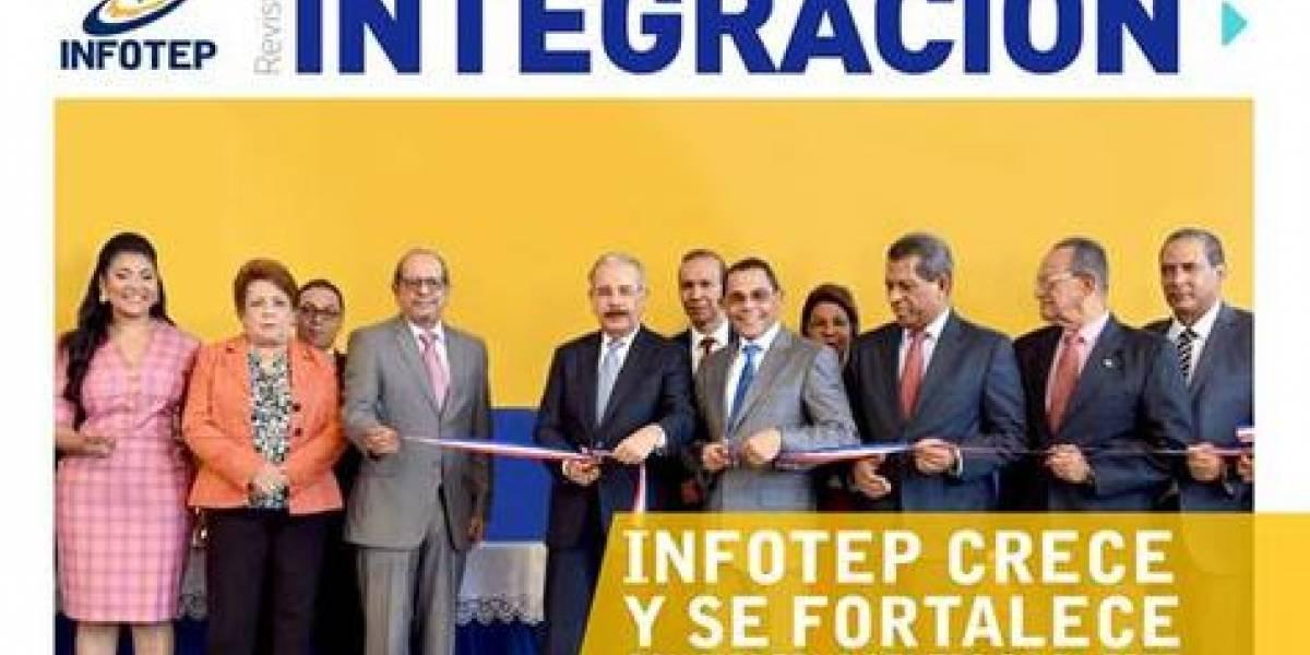 Revista semestral de Infotep presenta actualidad de la formación técnica