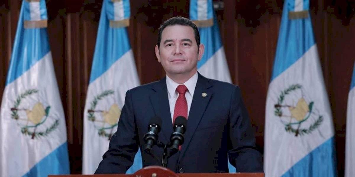 CC admite amparo contra Jimmy Morales por firma de acuerdo migratorio