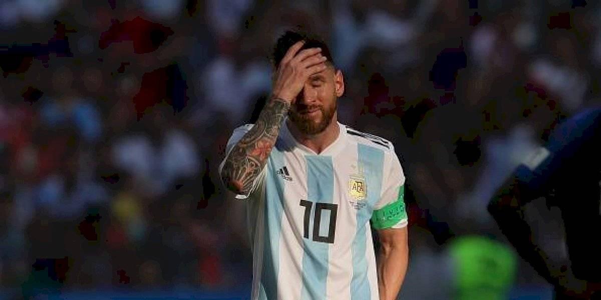 Messi pide disculpas a La Conmebol