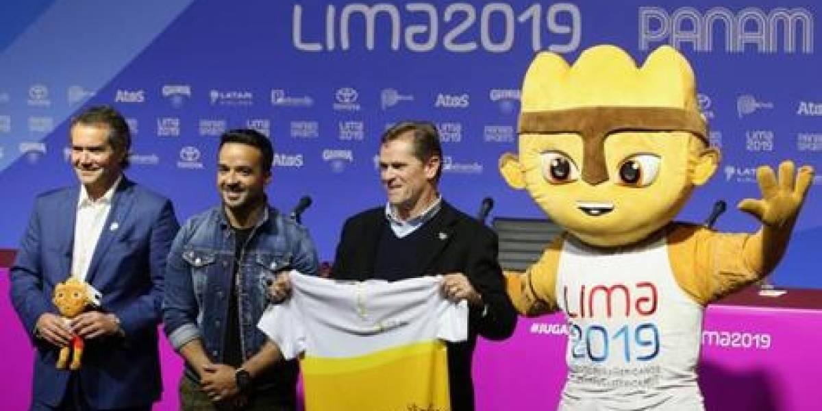 """Luis Fonsi cantará sus éxitos en la ceremonia inaugural de los """"Juegos Panamericanos Lima 2019"""""""
