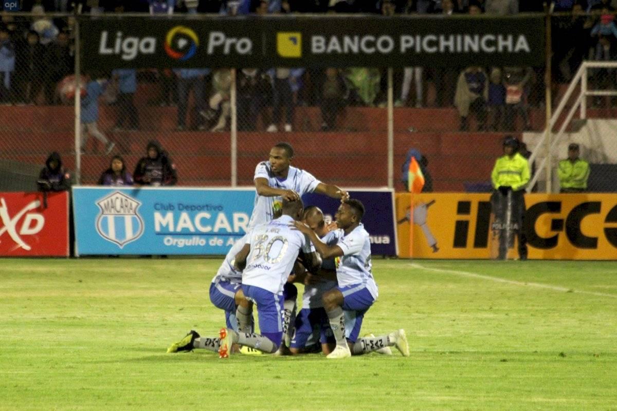 Con gol de Feraud, Macará recupera el liderato del campeonato API