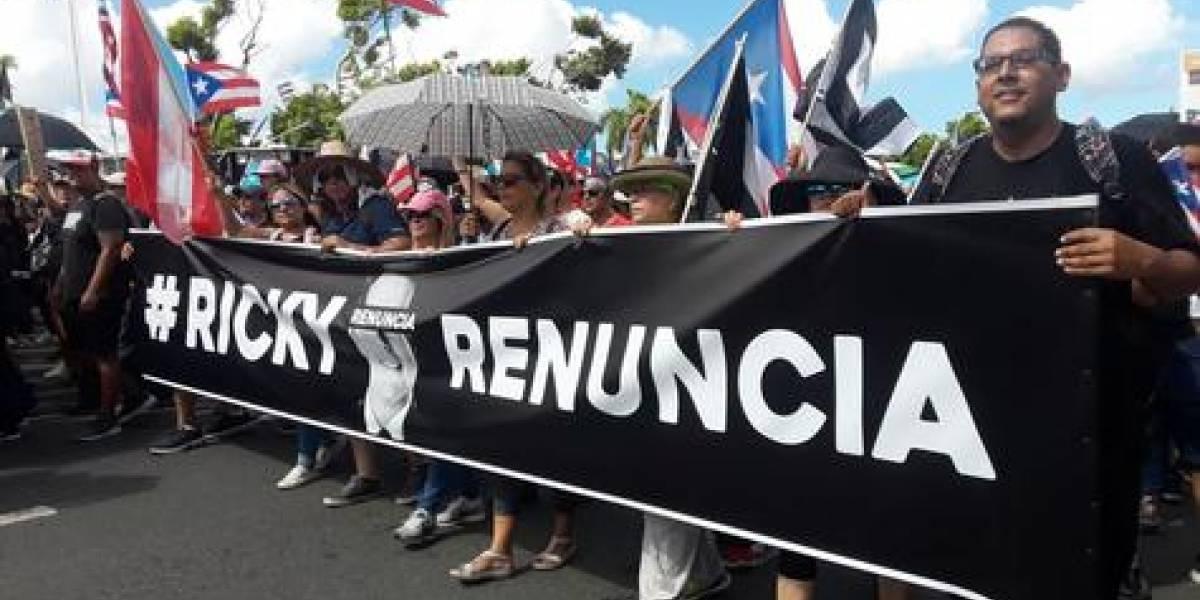 Histórica marcha en Puerto Rico no logra renuncia del Gobernador