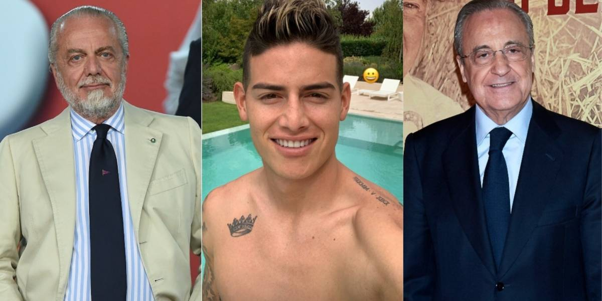 Archivo Getty Images  Tomado del Instagram de James Rodríguez