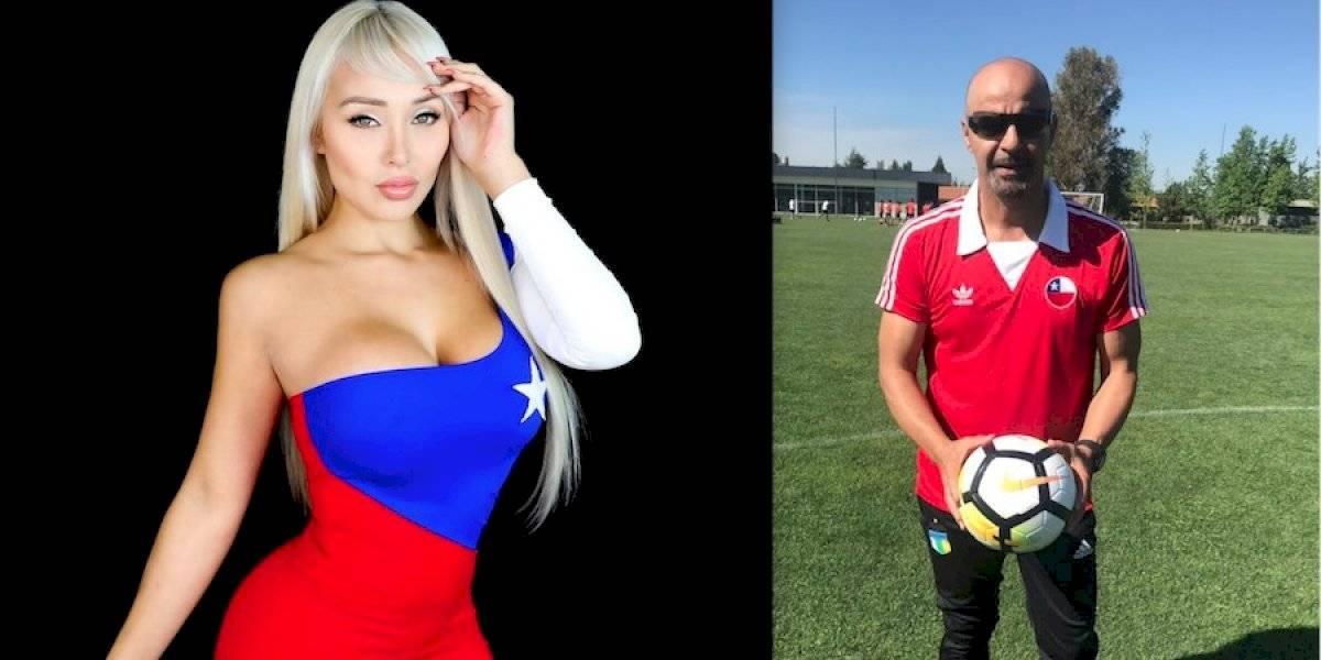 Daniella Chávez le pide respeto al Fantasma Figueroa esté vestida o desnuda