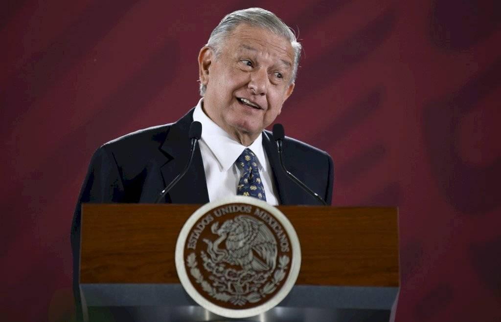 Andrés Manuel López Obrador en conferencia de prensa