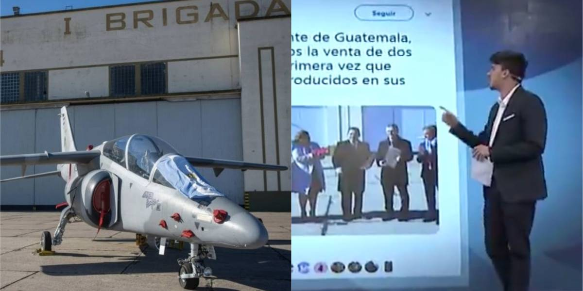 "VIDEO.Canal argentino califica de ""papelón internacional"" fallida venta de aviones a Guatemala"