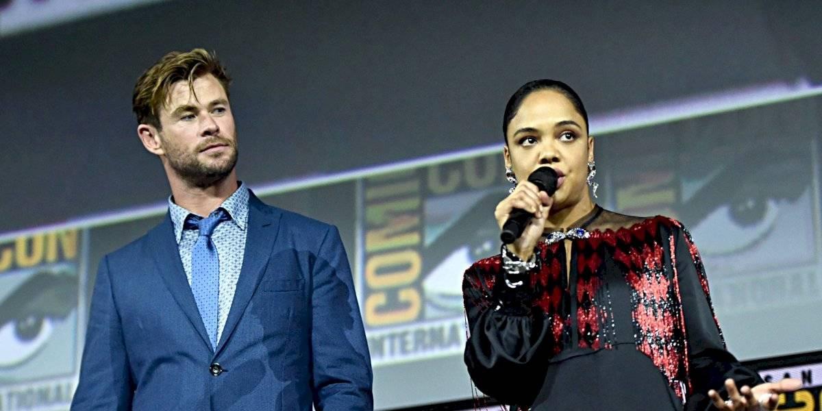 Valquiria, interpretado por Tessa Thompson, será el primer personaje LGBT+ de Marvel