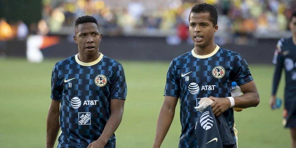 VIDEO: Así fue el debut de Giovani dos Santos con América