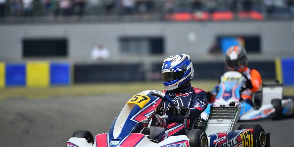 """""""Nico"""" Pino se prepara para el Mundial de karting y alista el debut en la F4 asiática"""