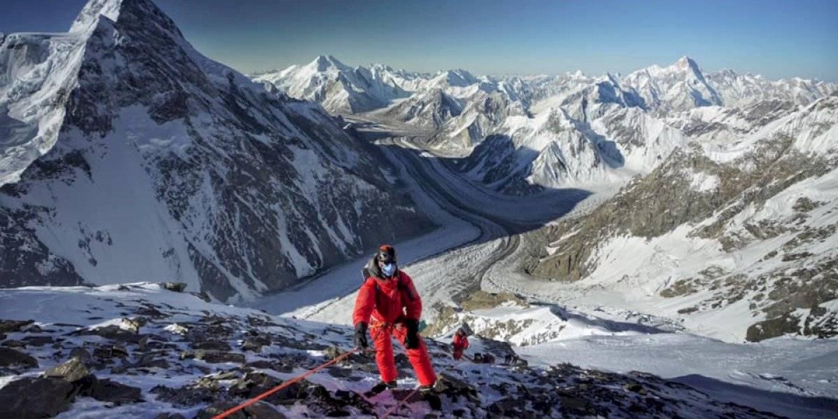 La montañista Carla Pérez conquistó el K2 sin oxígeno extra