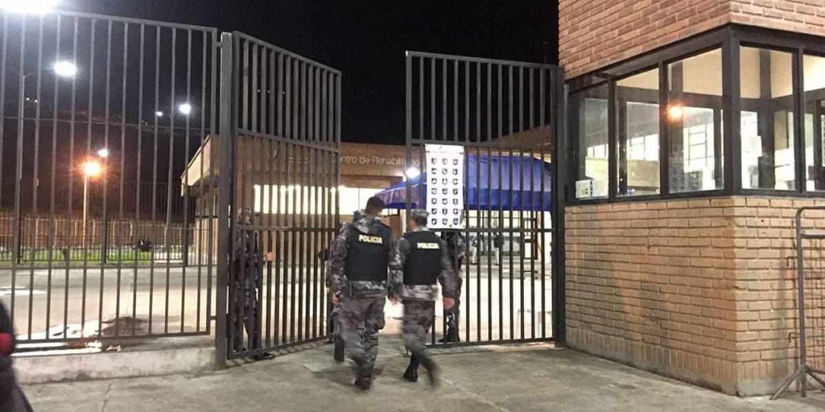 Hallan a reo ahorcado en el pabellón de máxima seguridad de la cárcel de Turi, Cuenca