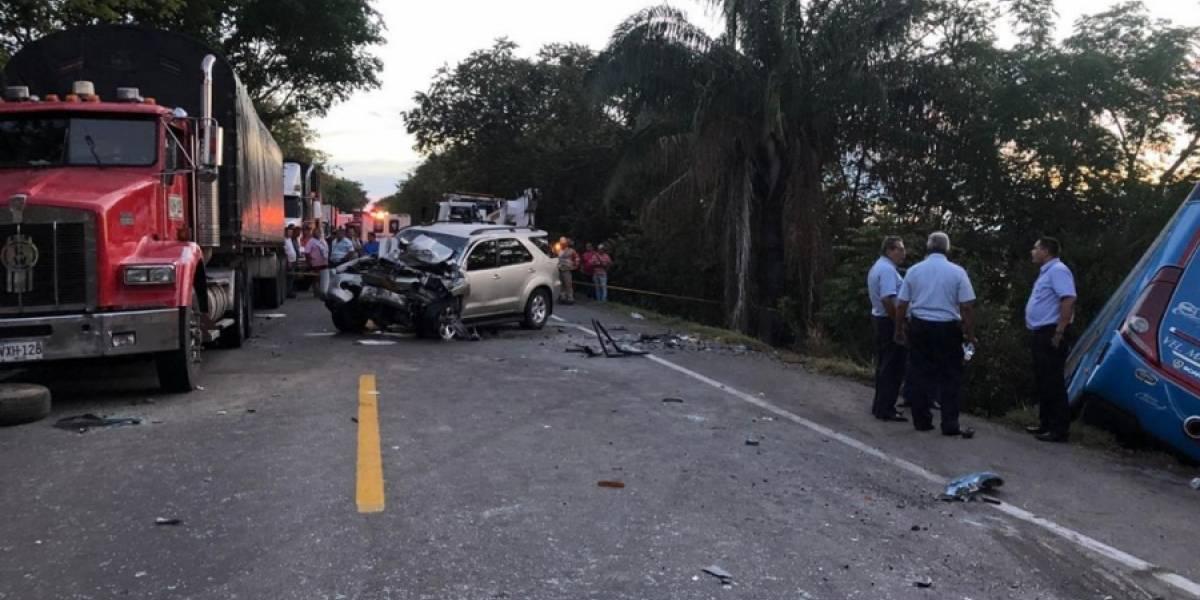 Ya son cuatro las personas fallecidas en accidente cerca a Girardot