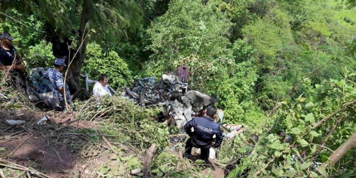 Muere secretario de Seguridad de Michoacán tras caída de helicóptero
