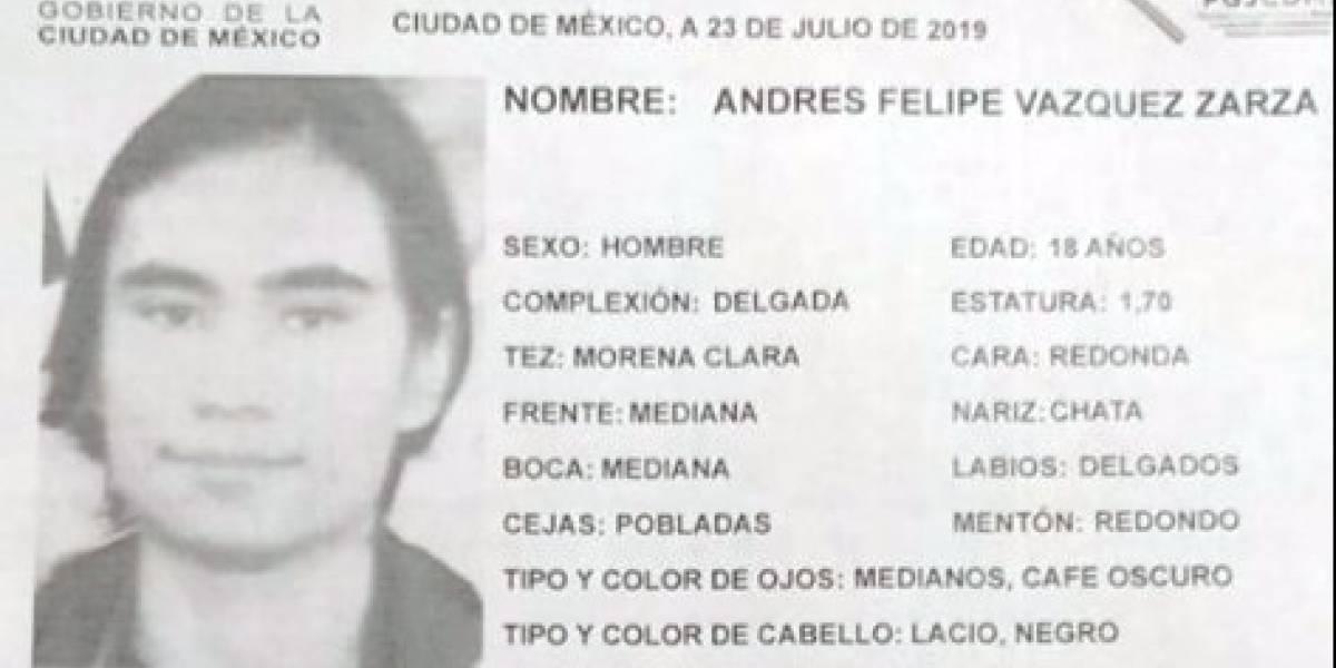 Desaparece joven en Azcapotzalco, ponen la denuncia, pero no investigan