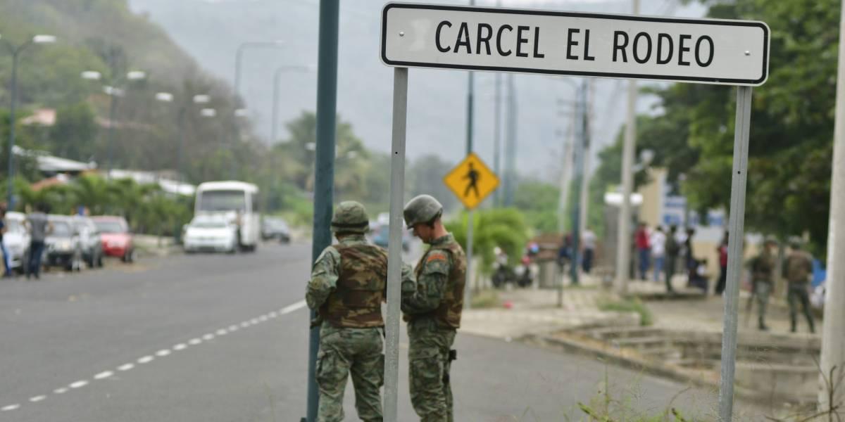 24 de julio: Cinco internos se fugaron de la cárcel El Rodeo, en Manabí