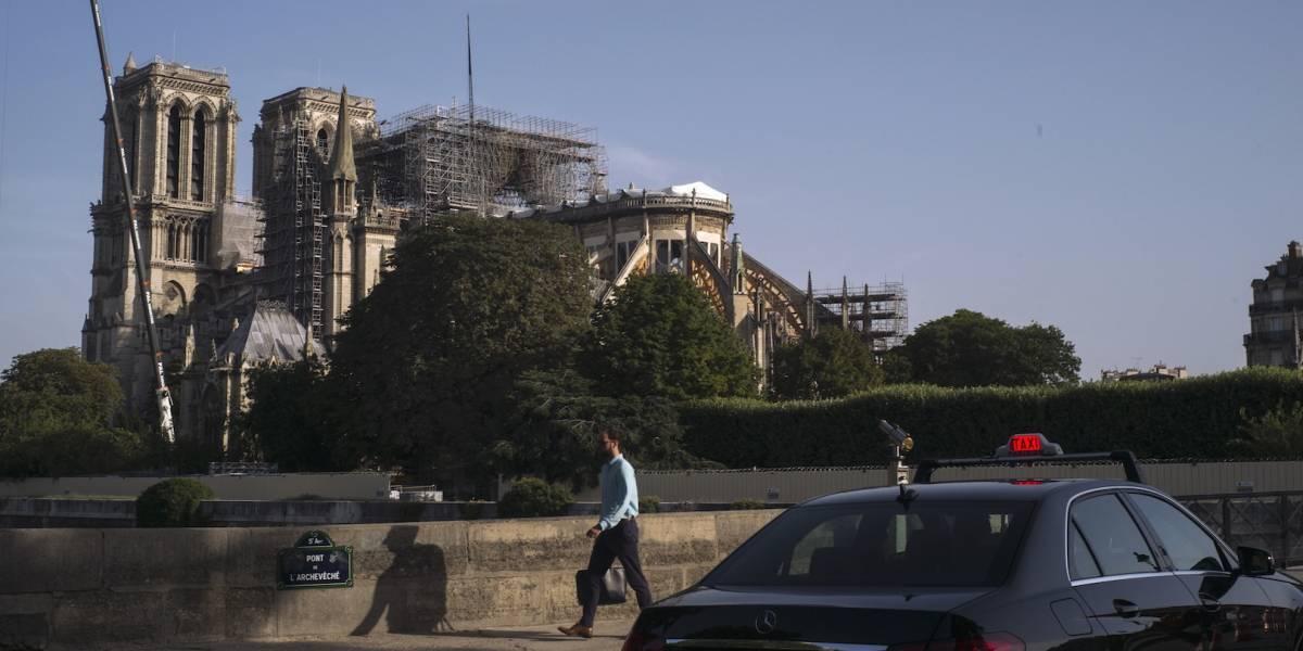 Ecologistas alertan de contaminación por plomo en Notre Dame