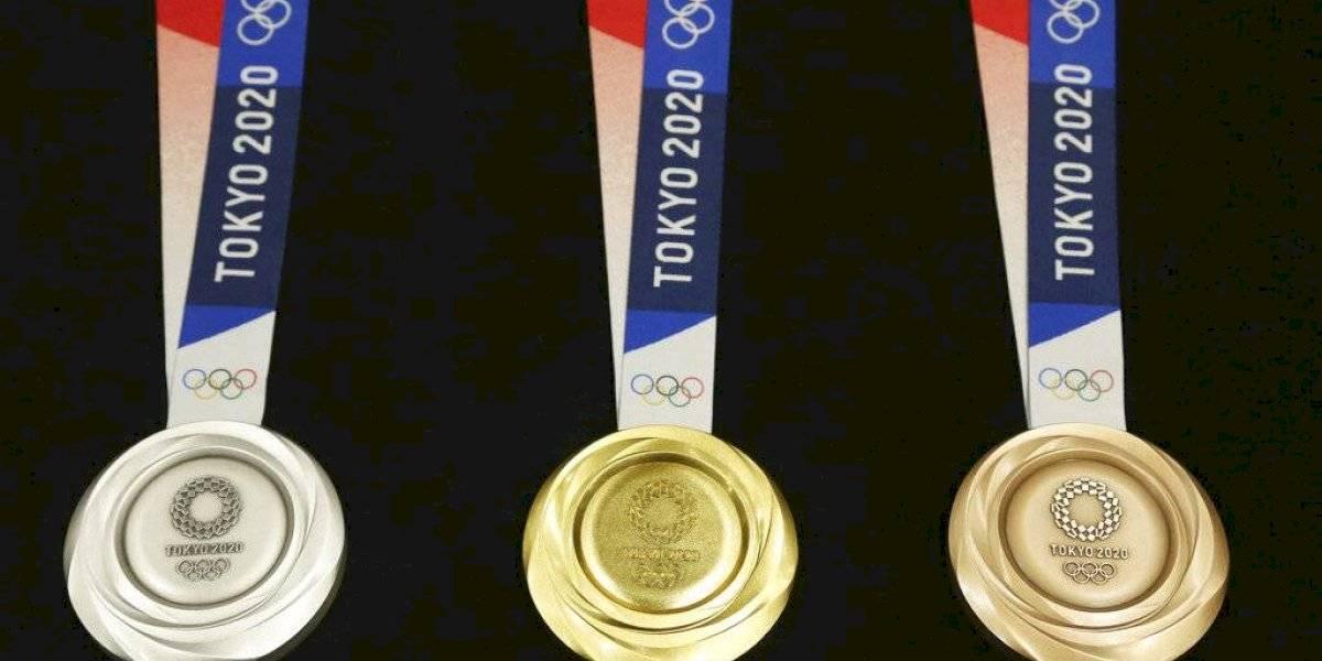 Presentan las medallas de Tokio 2020