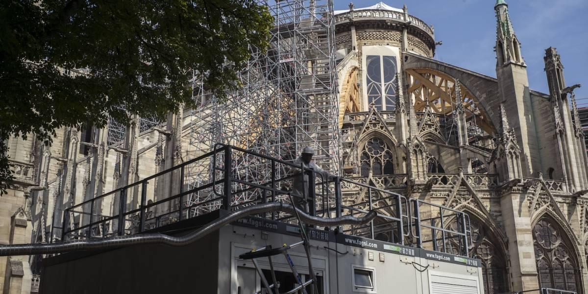 Ola de calor podría dañar lo que queda de la Catedral de Notre Dame