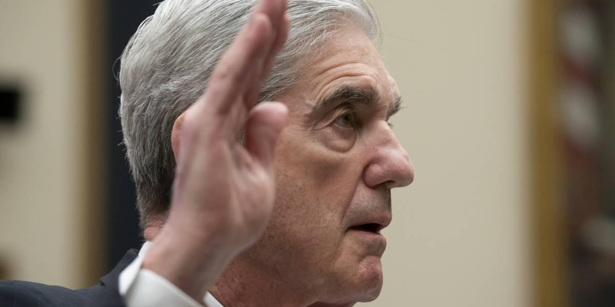"""Robert Mueller afirma ante el Congreso que """"no"""" exoneró a Trump"""