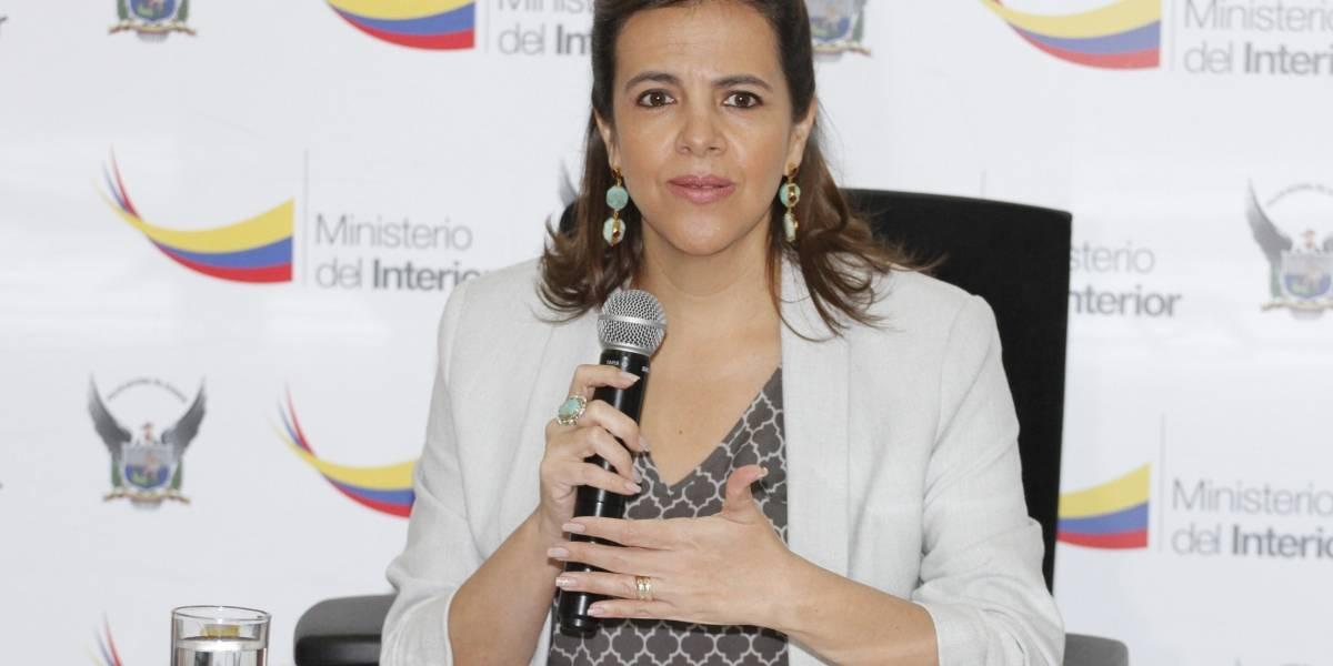 Ministra María Paula Romo: Gobierno presentará reforma a la Ley de Movilidad Humana