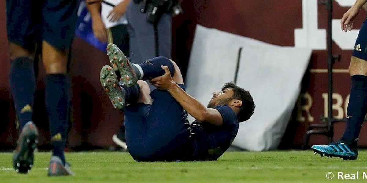 Real Madrid confirmó lo peor: Marco Asensio estará entre siete y nueve meses de baja por lesión