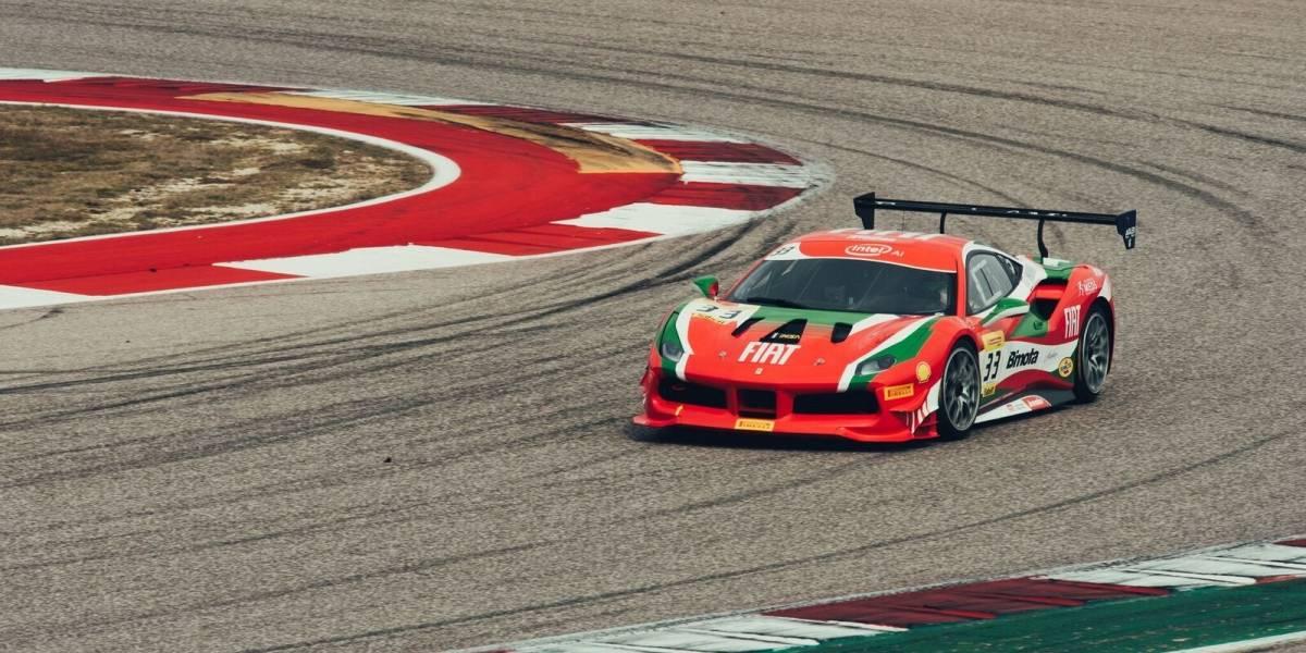 Hites vuelve a la acción del Ferrari Challenge norteamericano en Indianápolis