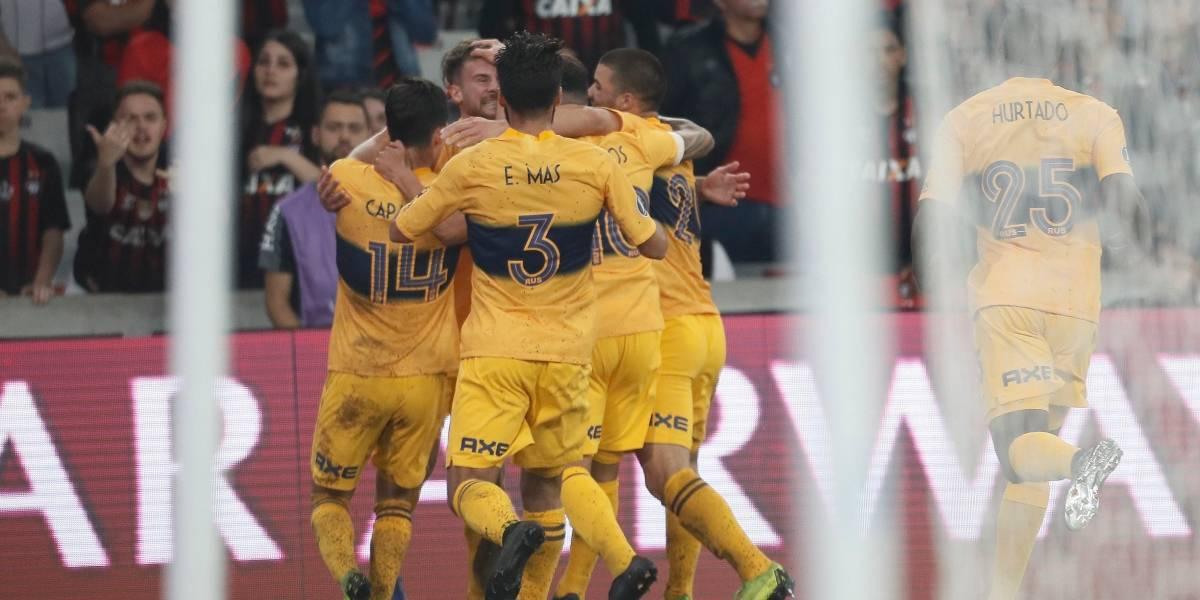 Boca Juniors se hizo fuerte en la Libertadores y venció como visitante a Atlético Paranaense