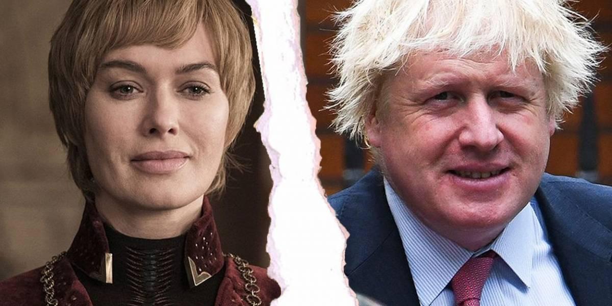 Cersei reacciona a elección de Boris Johnson con meme de The Shining