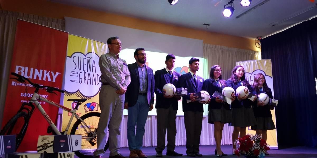 Bunky y Activaos impulsan sueños de jóvenes ecuatorianos